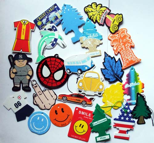 COTTON PAPER AIR FRESHENERS
